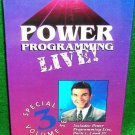 MARSHALL SYLVER - POWER PROGRAMMING  3 Volume Series HYPNOSIS NLP $199 - DVD+VHS