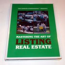 TOM HOPKINS - MASTER THE ART OF LISTING REAL ESTATE 8 TAPES+CD Backups MSRP $125