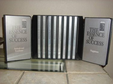 THE ESSENCE OF SUCCESS - Earl Nightingale Conant - 20 Tapes + 20 CDs - MSRP $200