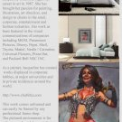 Original Painting Art Realism Modern Bellydancer  GLY7