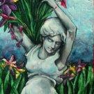 Original  Painting Art Realism Female Sculpture  GLY7