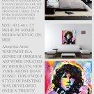 Jim Morrison Doors Painting Modern Art Abstract  GLY7