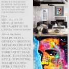 Elvis Art Painting Mixed Media Modern Art Abstract GLY7