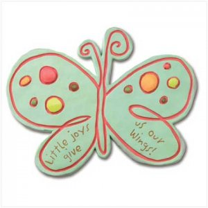 MOSAIC BUTTERFLY STEPPING STONE/PLAQUE - 37731