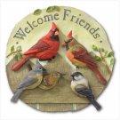 """""""WELCOME FRIENDS"""" GARDEN PLAQUE - 37739"""