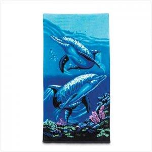 DOLPHIN BEACH TOWEL - 36020