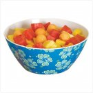 BLUE HAWAIIAN MELAMINE SERVING BOWL - 36682