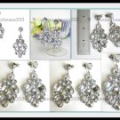 New Acrylic Crystal Chandelier Dangle Stud Earrings 59