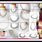 Stunning Bling Wedding Crystal Necklace 024 - FREE SHIP
