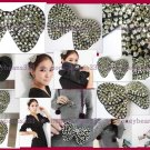 Handmade 2Way BowKnot Hair Clip Headband Pin Brooch 073