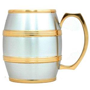 Julian Barrel Mug (Gold Trimmed - Small) G1251