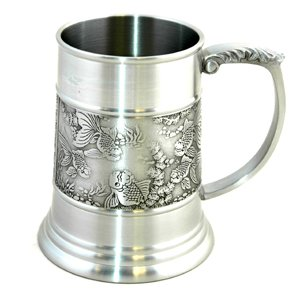 Gold Fish Tankard (A) - 2209