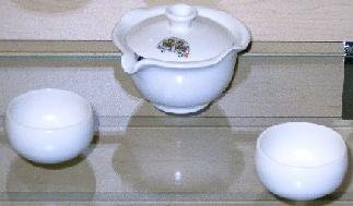 Fleecy Clouds Small Tea Set