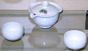 Fleecy Clouds Small Tea Set