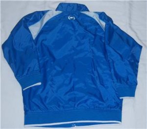 PHAT FARM Boys WINDBREAKER Jacket 4 EUC FALL Rain BLUE