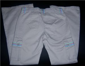 Gymboree TENNIS MATCH KHAKI Pants NEW 9 BTS CARGO Fall