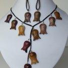 Necklace & Earrings Set Model DSCF1369