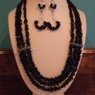 Necklace & Earrings Set Model DSCF0451
