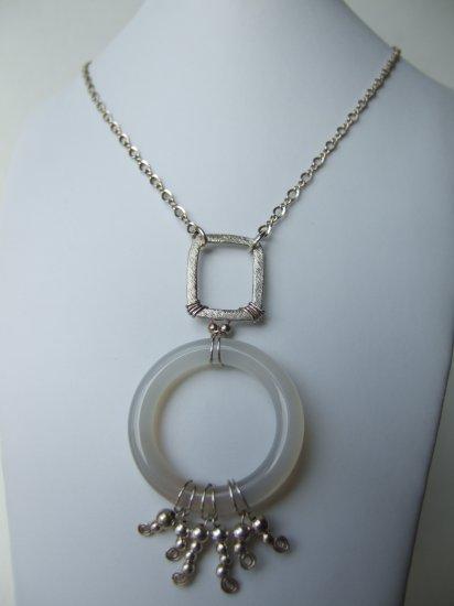 Silver Necklace Model DSCF1021