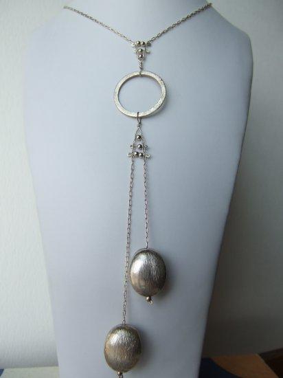 Silver Necklace Model DSCF1022