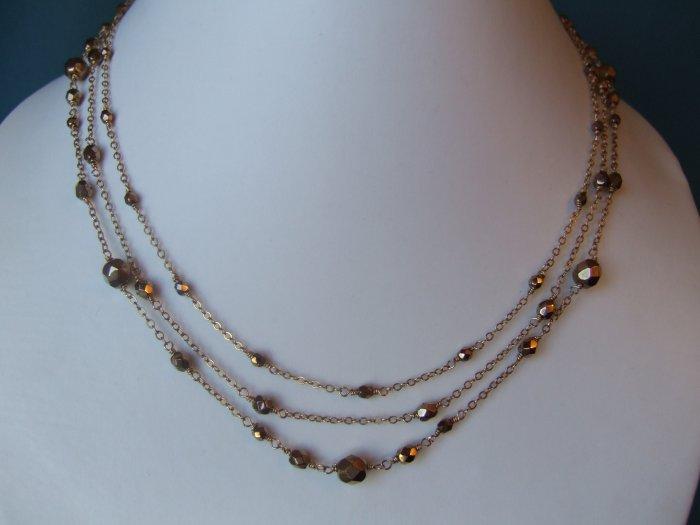 Goldfilled Necklace Model DSCF1893