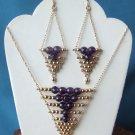 Necklace & Earrings Set  Model DSCF1662