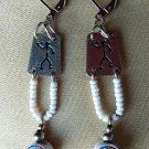 Alpaca Earrings Model 110253