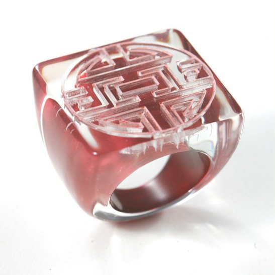 Fashion Jewelry Unique Chinese Ring / IH2-17