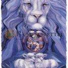 Jody BERGSMA Art LION LAMB : Time for Peace