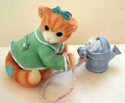 Calico Kitten : A Sprinkle of Joy : Priscilla Hillman : Enesco