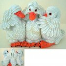Stone Critters : Duck No Evil Trio : United Design