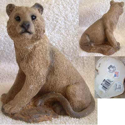 Alert Mountain Lioness Stone Critters United Design