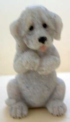 DOG #2 : Quarry Critter Mini : United Design Canine Collectible