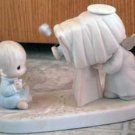 Precious Moments : Baby's First Picture : Enesco Porcelain