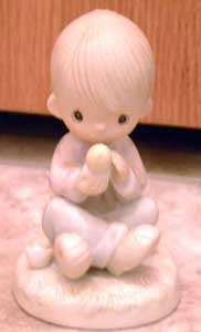 Precious Moments : I Believe in Miracles : Enesco Porcelain