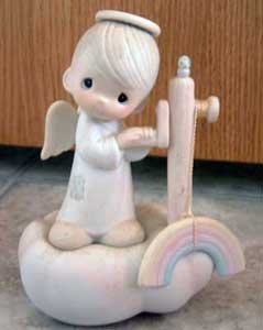 Precious Moments : God's Promises Are Sure : Enesco Porcelain