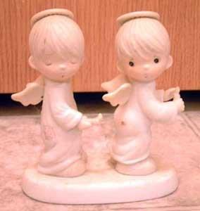 Precious Moments : Holy Smokes : Enesco Porcelain