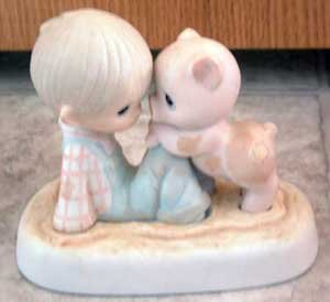 Precious Moments : We're in it Together : Enesco Porcelain