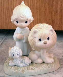 Precious Moments : Peace on Earth : Enesco Porcelain