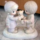 Precious Moments : Christmastime is for Sharing : Enesco Porcelain