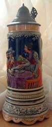 Antique German Stein Early 1960s Musical