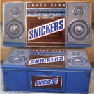Snickers Candy Bar Radio Speakers Collector Tin 1989