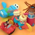 Minnie & Micky Mouse, Rug Rats, Sesame Street, Cabbage Patch Premium Toys