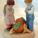 Jessie Wilcox Smith 'Giving Thanks' Vintage Avon Mint