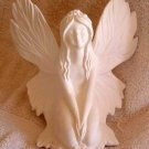 Ceramic Bisque FAIRY Beautiful Detail Large Fantasy