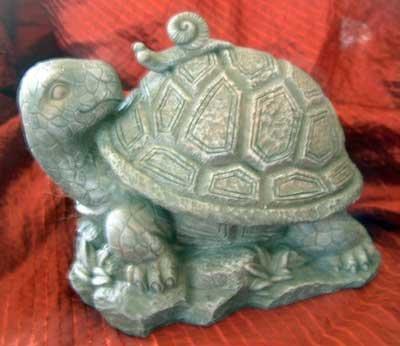 Garden Turtle & Snail Yard Indoor Outdoor Decor