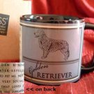 GOLDEN RETRIEVER Dog Russ Coffee Tea MUG Cup NIB