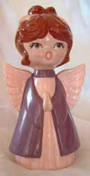 Ceramic Angel Holiday Christmas Home Decor