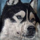 HUSKY Tapestry Throw 47x60 Beautiful!