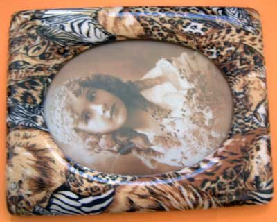 Frame Safari Animal 5x6.5 Oval Opening NEW